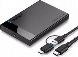 """Kieszeń Ugreen 2.5"""" SATA HDD/SSD - USB-C (60735)"""
