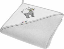 Akuku Kūdikio rankšluostis su gobtuvu AKUKU, 100x100 cm, Lemūras