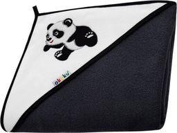 Akuku Kūdikio rankšluostis su gobtuvu AKUKU, 100x100 cm, Panda