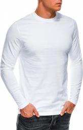 Ombre Koszulka męska L118 biała r. XL