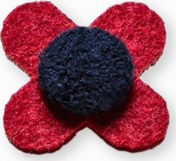 Ombre Przypinka kwiat A244 uniwersalny