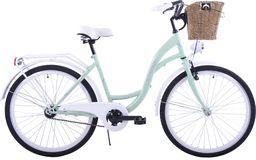 """Kozbike Rower miejski K30 1S 26"""" miętowo-biały"""