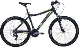 Karbon Rower Trail R3 27.5 czarno żołto niebieski 17