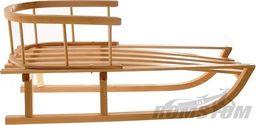 Sanki drewniane z oparciem bukowe uniwersalny