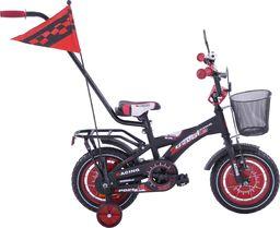 Fuzlu Rower dziecięcy 12 BMX Racing Fuzlu czarno-czerwony mat uniwersalny
