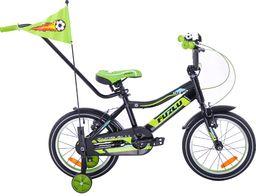 Fuzlu Rower dziecięcy 16 Fuzlu Thor alu. czarny uniwersalny