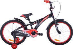 Fuzlu Rower dziecięcy 20 Fuzlu Eco czarno-czerwony uniwersalny