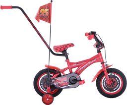 Fuzlu Rower dziecięcy 12 Auta CARS zygzak McQueen czerwony uniwersalny