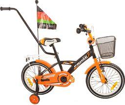 Fuzlu Rower dziecięcy 20 PRIME pomarańczowy uniwersalny