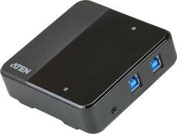 Przełącznik Aten Przełącznik 2x4 USB 3.1 Gen1 Sharing Switch US3324-AT-US3324-AT