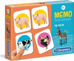 Clementoni Memo Zwierzęta na farmie