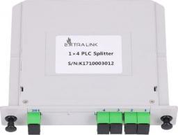 ExtraLink EXTRALINK 1:4 PLC SPLITTER SC/APC SLOT TYPE