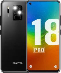 Smartfon Oukitel C18 Pro 64 GB Dual SIM Czarny  (oukitel_20200618143259)
