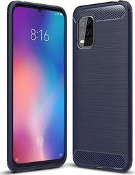 Carbon Carbon Case Etui do Xiaomi Mi 10 Lite Niebieskie