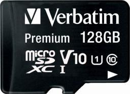 Karta Verbatim Premium MicroSDXC 128 GB Class 10 U1 V10 (44085)