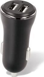 Ładowarka Forever Ładowarka samochodowa Forever CC-03 (2x USB | 2,4 A) + kabel 3in1 (microUSB + iPhone + Type-C)