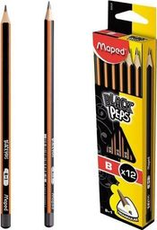 Maped Ołówek Blackpeps B (12szt) MAPED