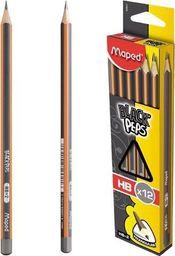 Maped Ołówek Blackpeps HB (12szt) MAPED