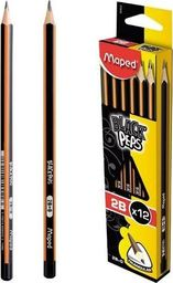 Maped Ołówek Blackpeps 2B (12szt) MAPED