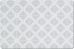 Zeller Podkładka w romby, 28.5x43.5cm, czarny
