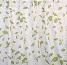 Albani Zasłona na ukrytych szelkach Jonny, zielone listki, 135x245cm