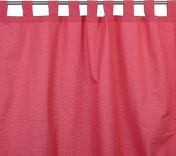 Domger Zasłona na szelkach Emotion, kol.purpurowy, 135x255cm