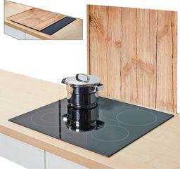"""Zeller Szklana deska/ochrona """"wood"""", 50x56x0.78cm"""