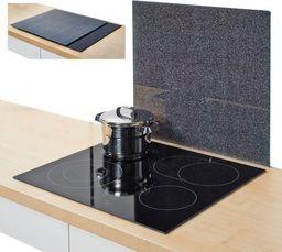 """Zeller Szklana deska/ochrona """"granit"""", 50x56x0.78cm, antracytowy"""