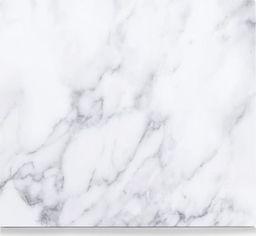 """Zeller Szklana deska """"marmur"""", 56x50cm, kol. biały"""