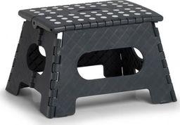 Zeller Składany stołek, plastikowy, antracytowy, 35 x 28 x 22 cm