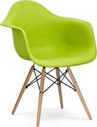 King Home Fotel DAW soczysta zieleń.13 - polipropylen, podstawa bukowa
