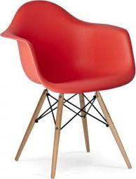 King Home Fotel DAW krwista czerwień.06 - polipropylen, podstawa bukowa