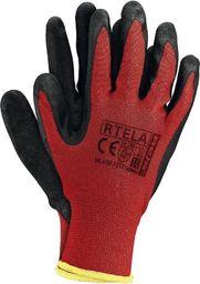 Upominkarnia Rękawice ochronne nylonowe czerwone (RTELAC8) /12/ UPOMINKARNIA uniwersalny