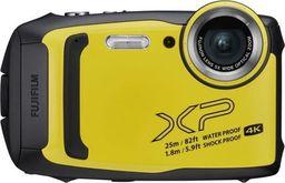 Aparat cyfrowy Fujifilm Aparat FujiFilm XP140 żółty + pokrowiec -FujiFilm XP140 yellow + pokrowiec