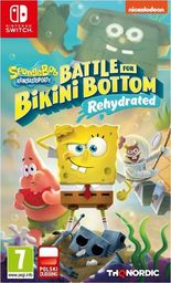NS SpongeBob Squarer Pants Battle for Bikini Bottom Rehydrated -9120080075888 Nintendo Switch