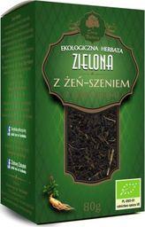 Dary Natury Herbata Zielona z Żeń-Szeniem Bio 80 g - Dary Natury