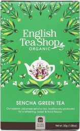 English Tea Sho Herbata zielona Sencha (20x2) BIO 30 g