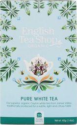 English Tea Sho Herbata biała (20x2) BIO 40 g