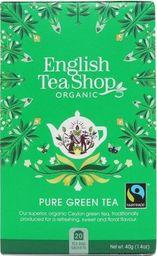 English Tea Sho Herbata zielona (20x2) BIO 40 g