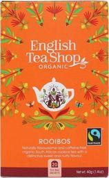 English Tea Sho Herbatka Rooibos (20x2) BIO 40 g