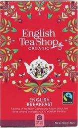 English Tea Sho Herbata English Breakfast (20x2,5) BIO 50 g