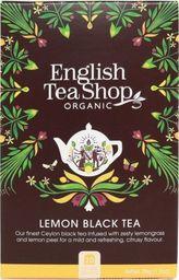 English Tea Sho Herbata czarna z trawą cytrynową (20x1,75) BIO 35 g