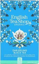 English Tea Sho Herbata czarna Darjeeling (20x2) BIO 40 g
