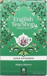 English Tea Sho Herbata zielona Mighty Matcha (20x1,75) BIO 35 g