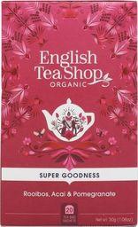 English Tea Sho Herbatka ziołowa Rooibos,Acai i granat (20x1,5) BIO 30 g