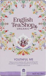 English Tea Sho Herbatka ziołowa Youthful Me (20x1,5) BIO 30 g