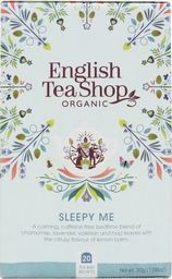 English Tea Sho Herbatka ziołowa Sleepy Me (20x1,5) BIO 30 g
