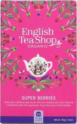 English Tea Sho Herbatka owocowa (20x2) BIO 40 g