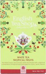 English Tea Sho Herbata biała Tropical Fruits (20x2) BIO 40 g