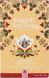 English Tea Sho Herbata biała Lychee Cocoa (20x2) BIO 40 g
